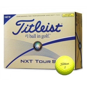 Pelotas de Golf Titleist NXT Tour S Yellow