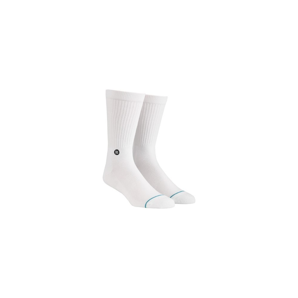 Calcetines Stance Icon Largo Blanco